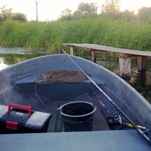 Рыбалка на карпа с лодки