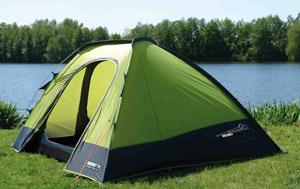 Ночевка в палатках
